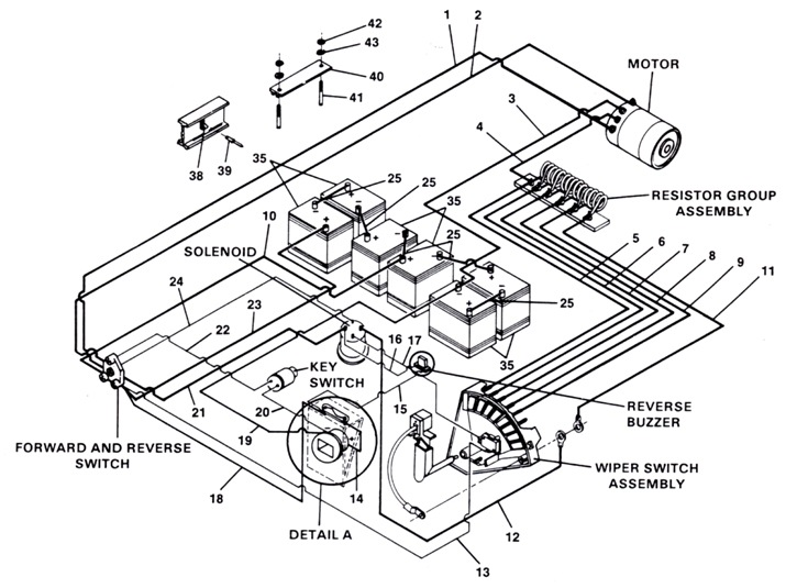 Ezgo Resistor Cart Wiring Diagram