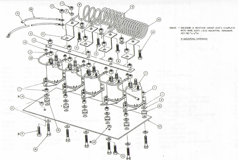 golf cart wiring diagram 1981 85 club car 5 solenoid wiring diagramclub car schematics rh gaminde net